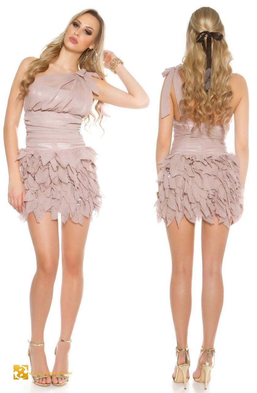Fodrozott bohókás alkalmi ruha 7 színben (XS 4745e492aa