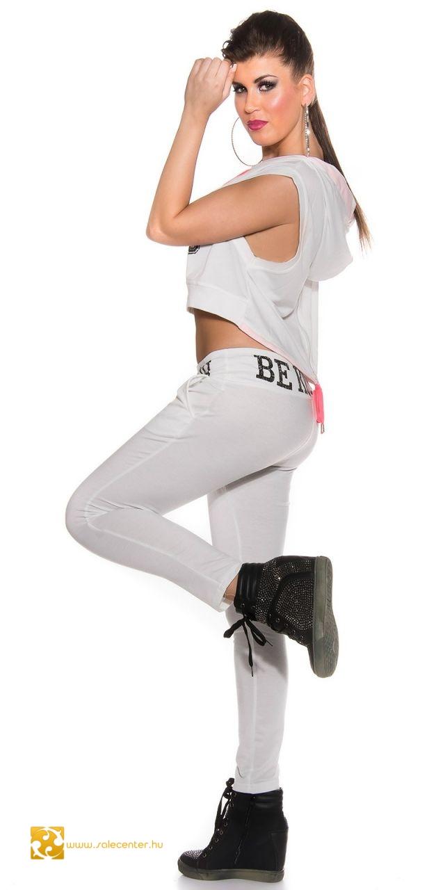 """""""Be R$ch"""" sportos melegítő együttes 4 színben (S,M,L)"""