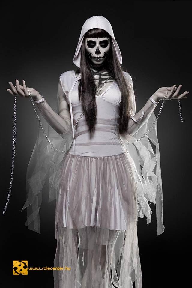 Csontváz menyasszony jelmez kosztüm ruha halloween farsang jelmez ... ca5b03b326
