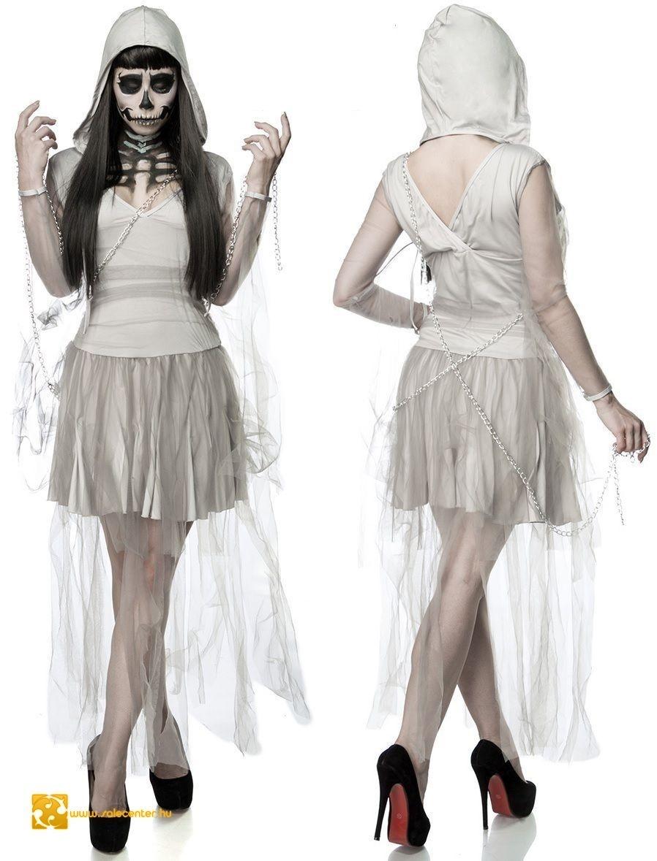 Csontváz menyasszony jelmez kosztüm ruha halloween farsang jelmez ... cfb7a5fa8a