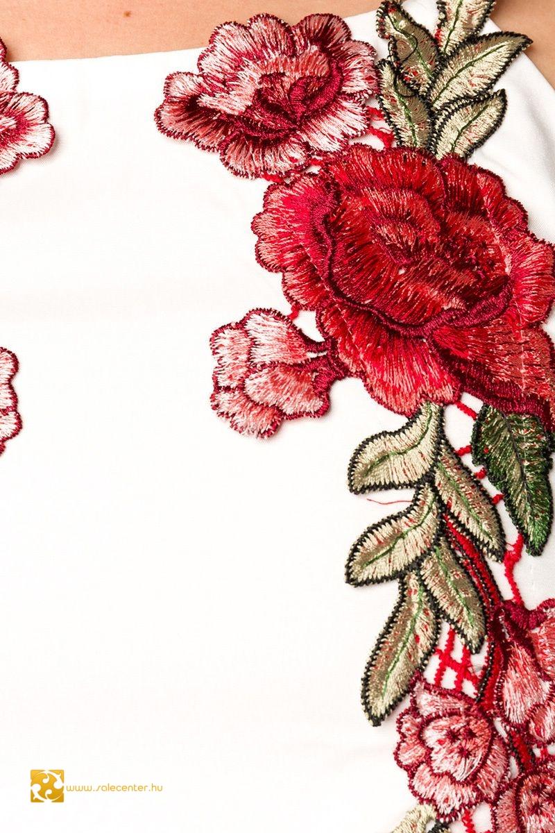 Rózsa hímzéses nyári együttes (S,M,L,XL)