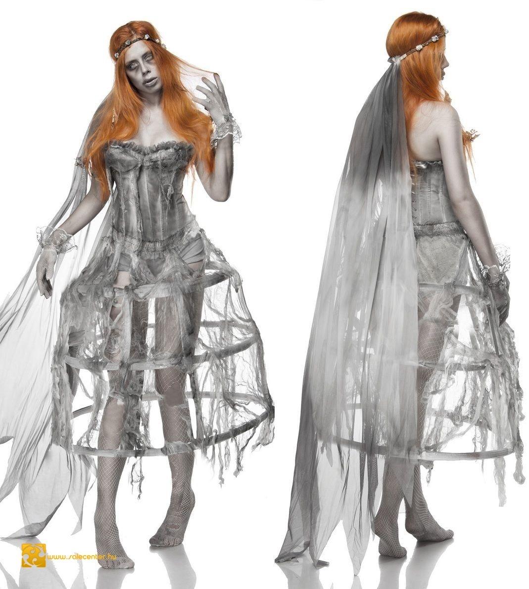Zombi menyasszony jelmez (S f8368279d2