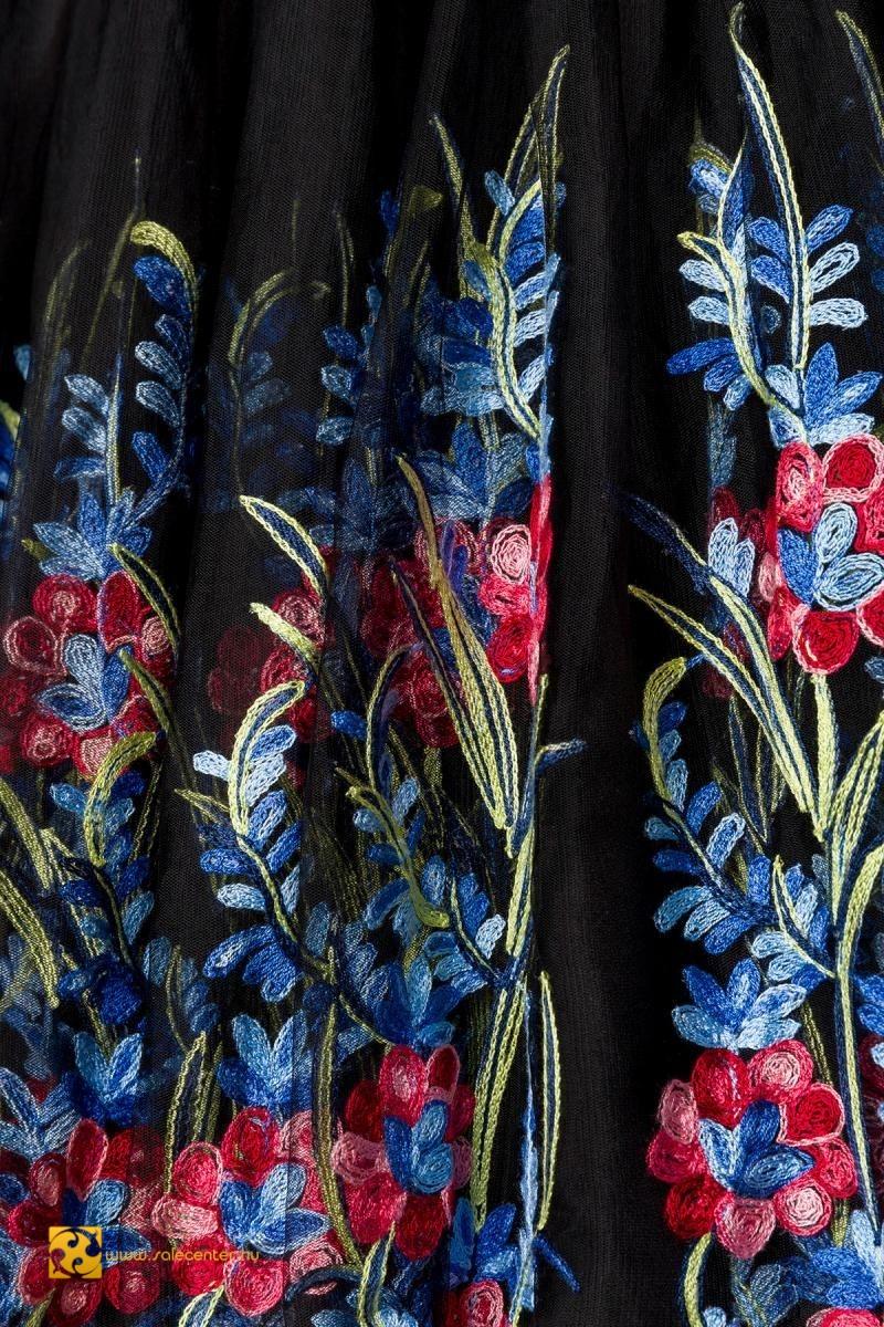 Virág hímzéses retro ruha (S,M,L,XL,2XL,3XL,4XL)