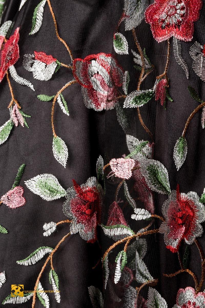 Virág hímzéses retro ruha 2 színben (S,M,L,XL,2XL,3XL,4XL)