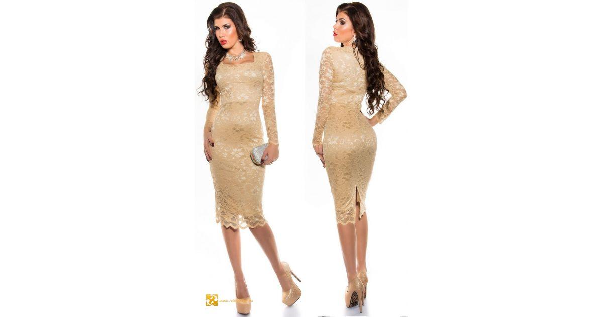 61e0d2efef csipke csipkés ruha miniruha hosszú mini ruha térdig érő midi ruha csipkés  elegáns alkalmi koktélruha estélyi csinos trendi divatos moletti ruha csipke