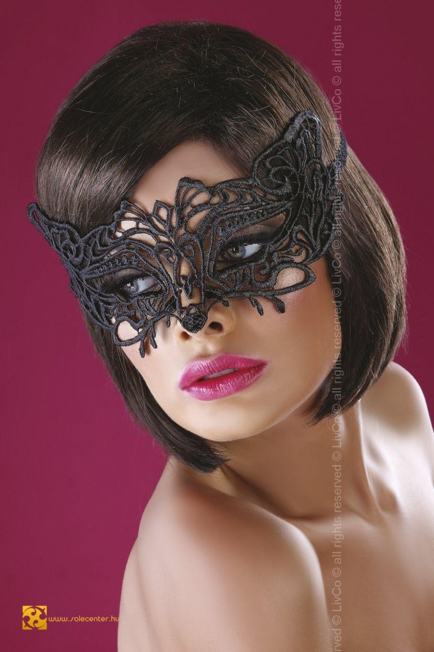 Horgolt csipke Livia Corsetti maszk 20 féle