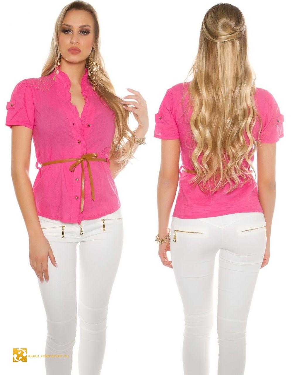 c06005c379 ing, strasszköves vállú ing, divatos női ing, szexi női ing
