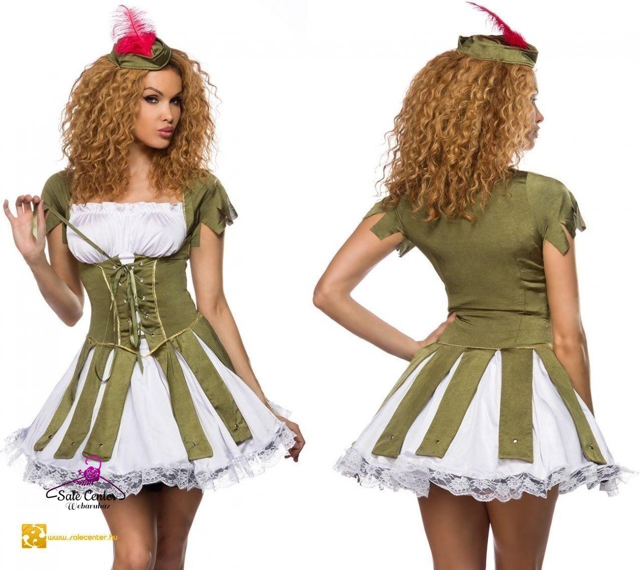 d5cccbf500 Dögös Robin Hood jelmez női felnőtz szexi dögös farsang halloween ...