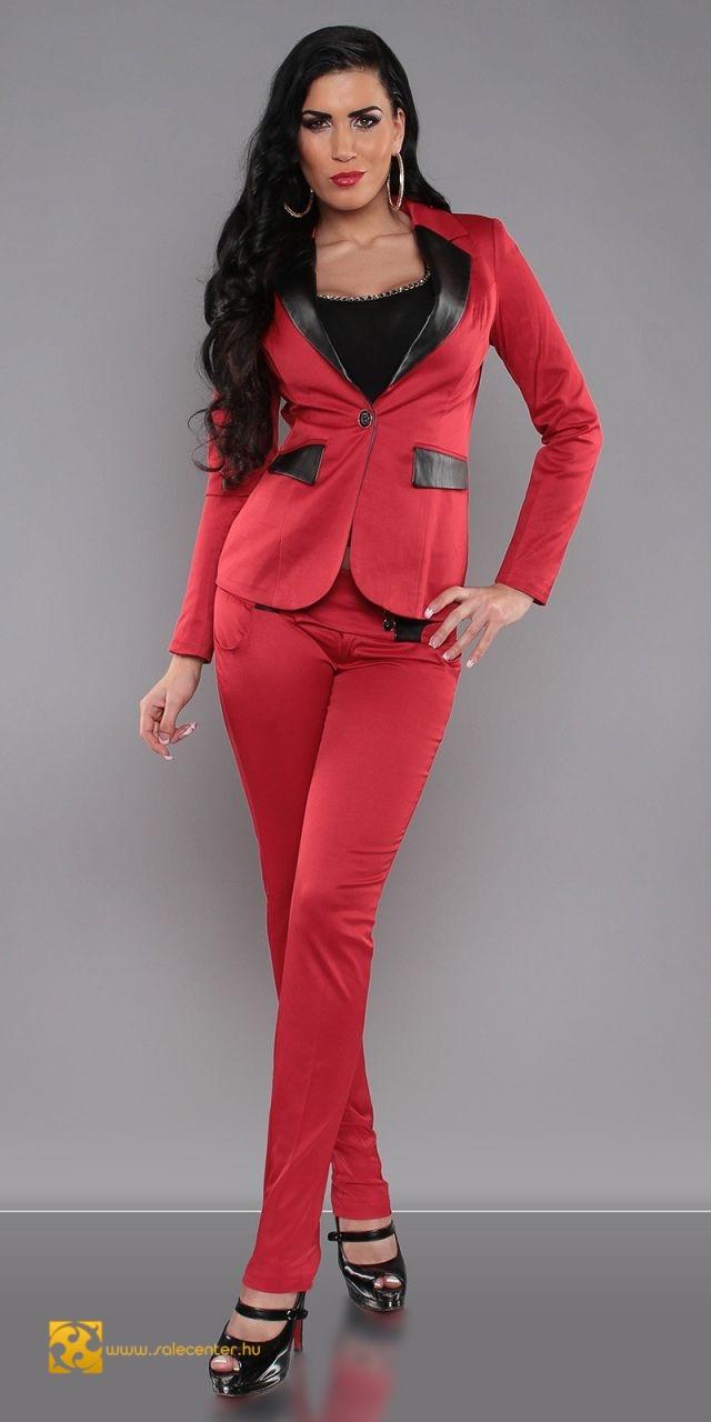 d0f3ba95fc Elegáns nadrág kosztüm 4 színben (XS,S,M,L,XL)
