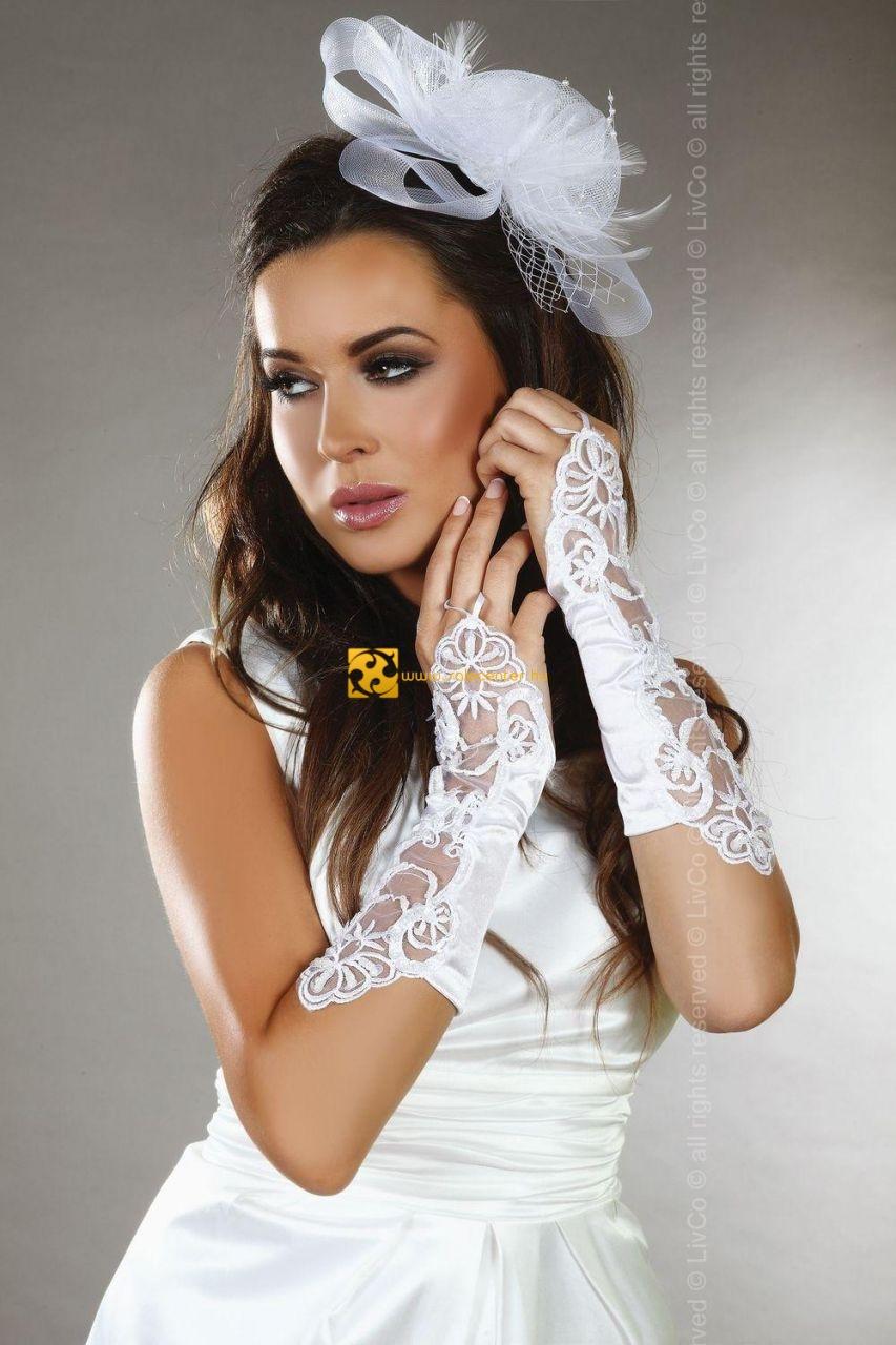 4212441af9 Livia Corsetti menyasszonyi kesztyűk kesztyű esküvő esküvői fehér ...