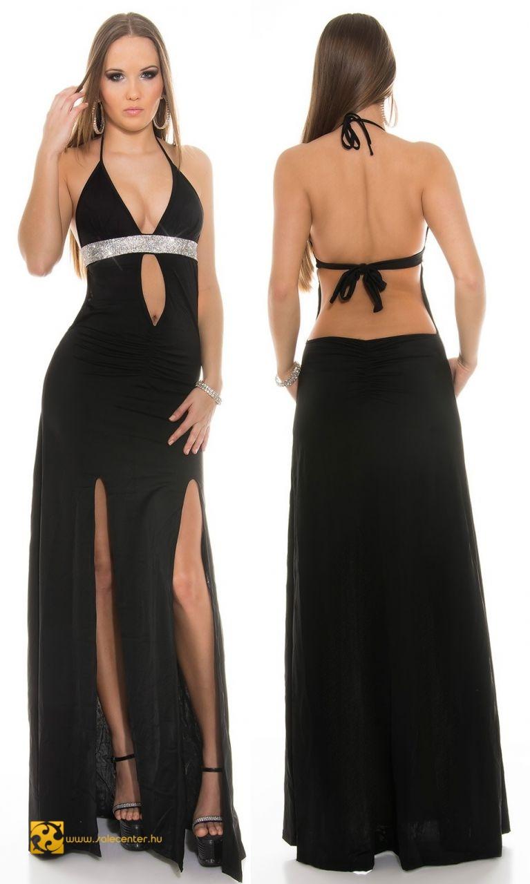 5a154233a5 Szuper szexi hosszú fazonú estélyi ruha 3 színben alkalmi estélyi ...