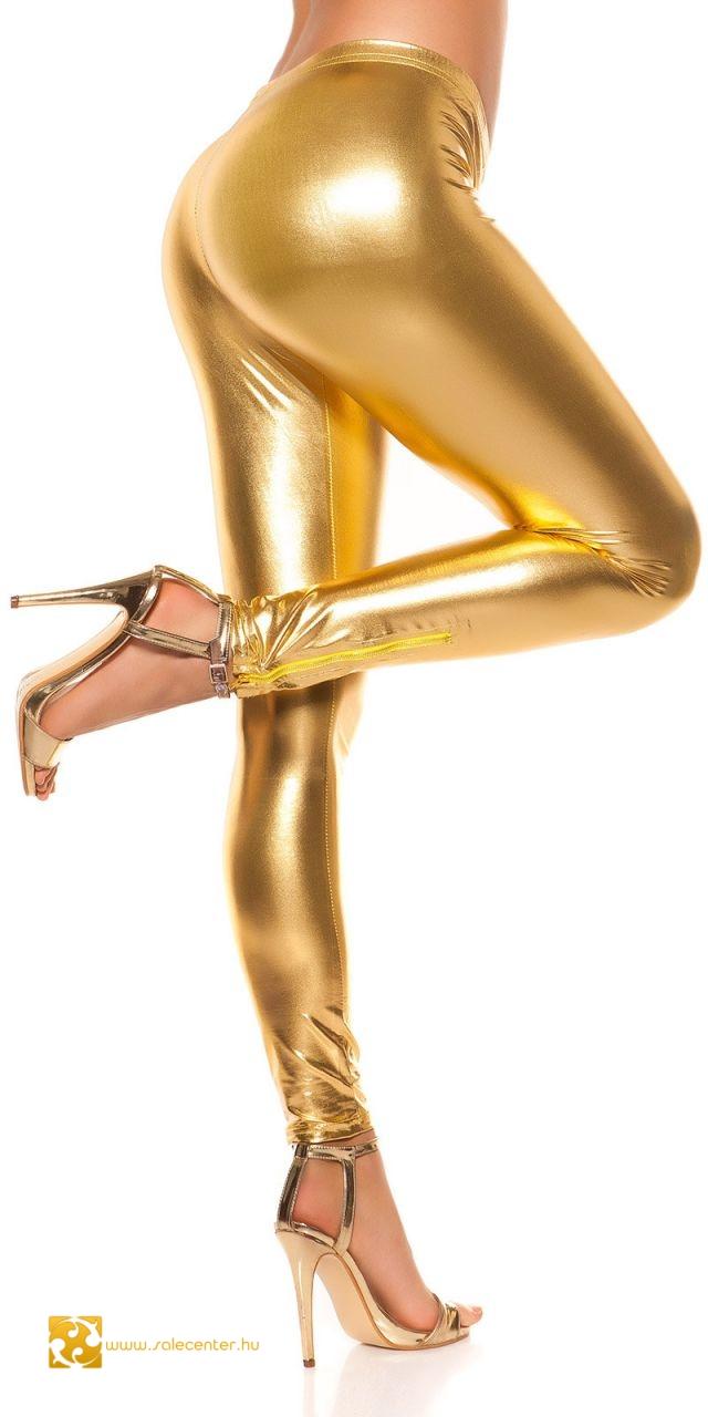 Fényes anyagú leggings 2 színben (S,M,L)