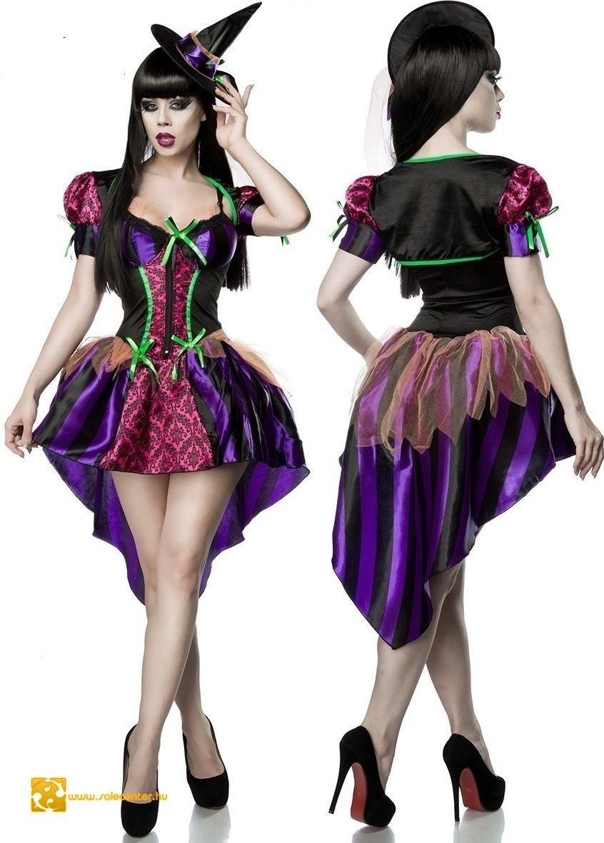 e593b31017 Szexi boszorkány jelmez (XS-S,M,-L) kosztüm női divatos dögös trendi ...