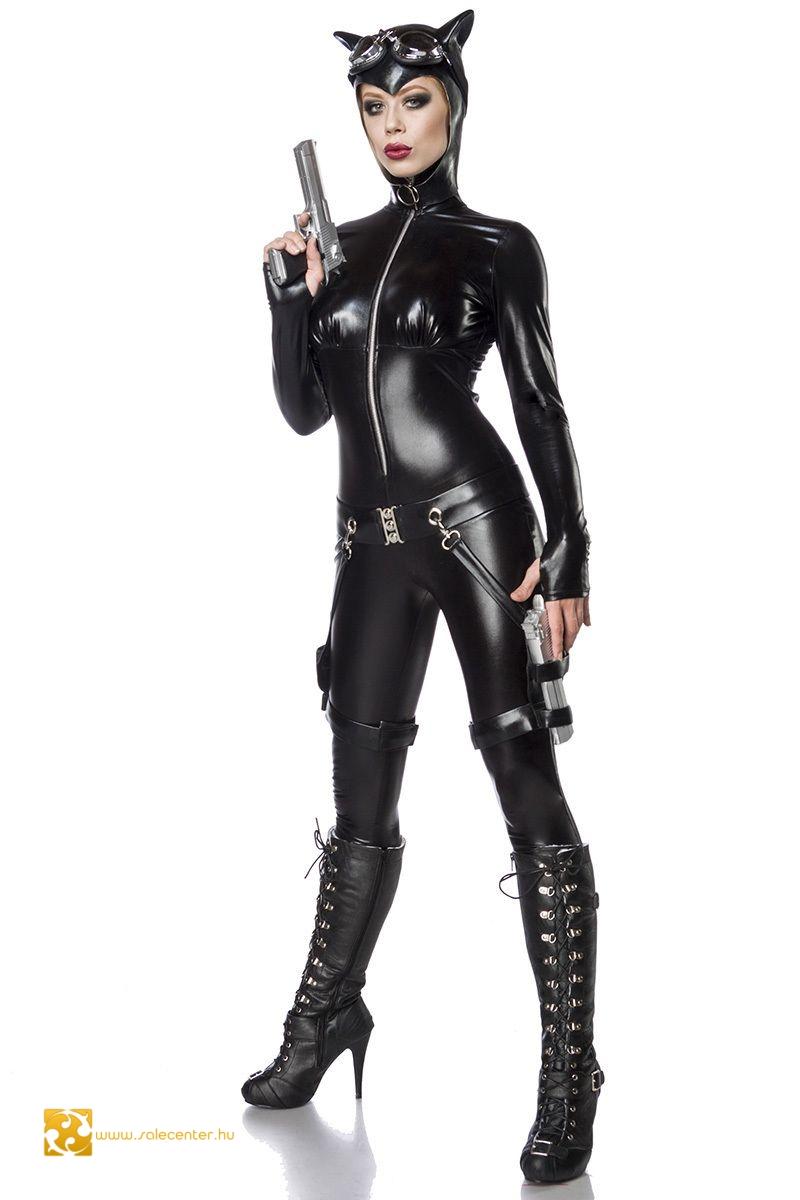 ae848a4183 Macskanő jelmez (XS,S,M,L,XL,2XL) felnőtt női jelmez kosztüm rendőr ...