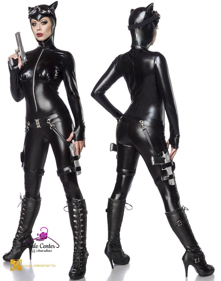 59e0258de0 Macskanő jelmez (XS,S,M,L,XL,2XL) felnőtt női jelmez kosztüm rendőr ...