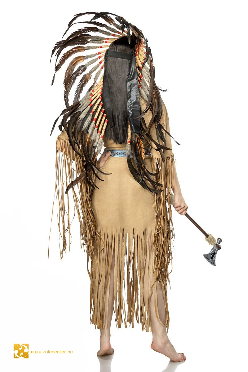 Női indián jelmez (S,M,L,XL)