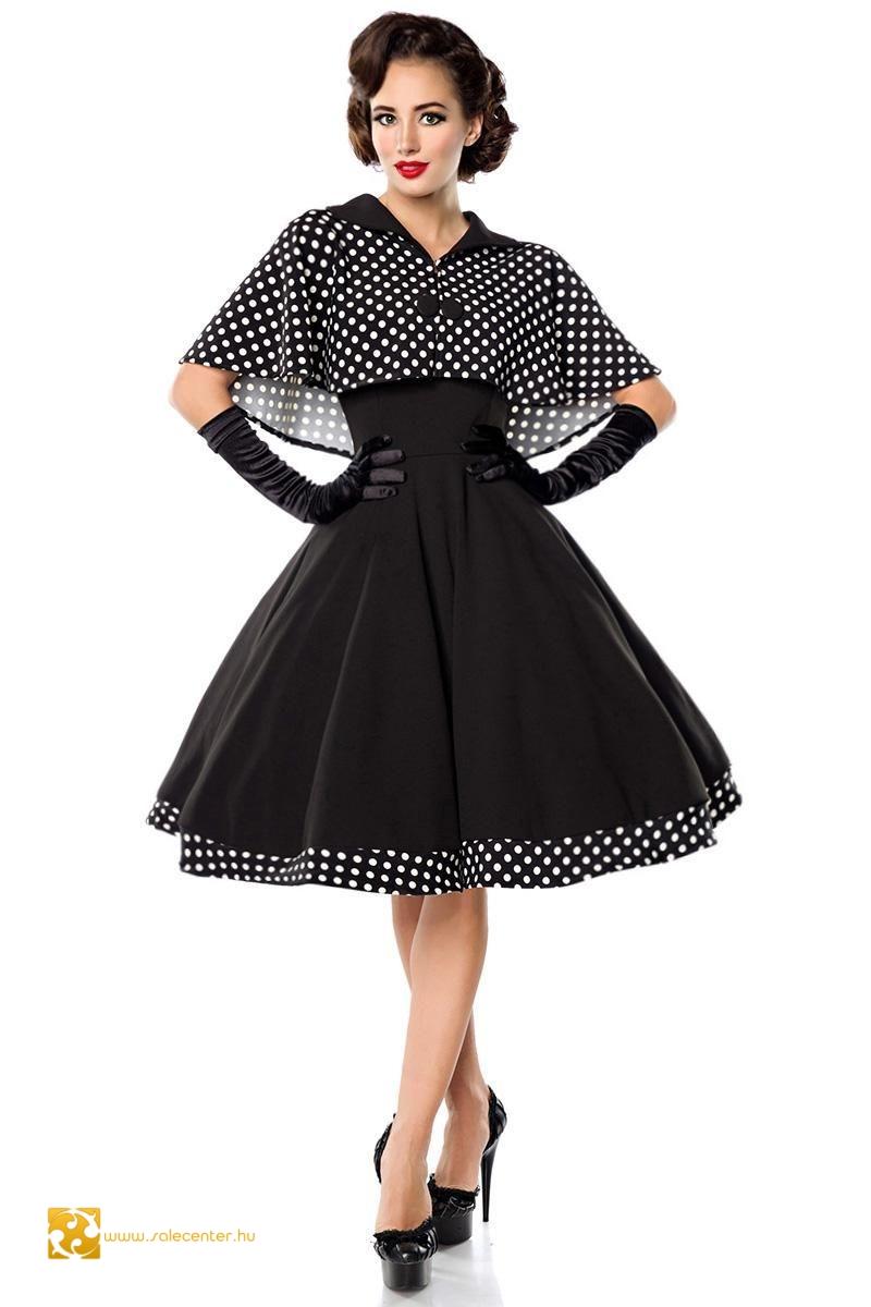 Swing ruha kabáttal (XS,S,M,L,XL,2XL,3XL)