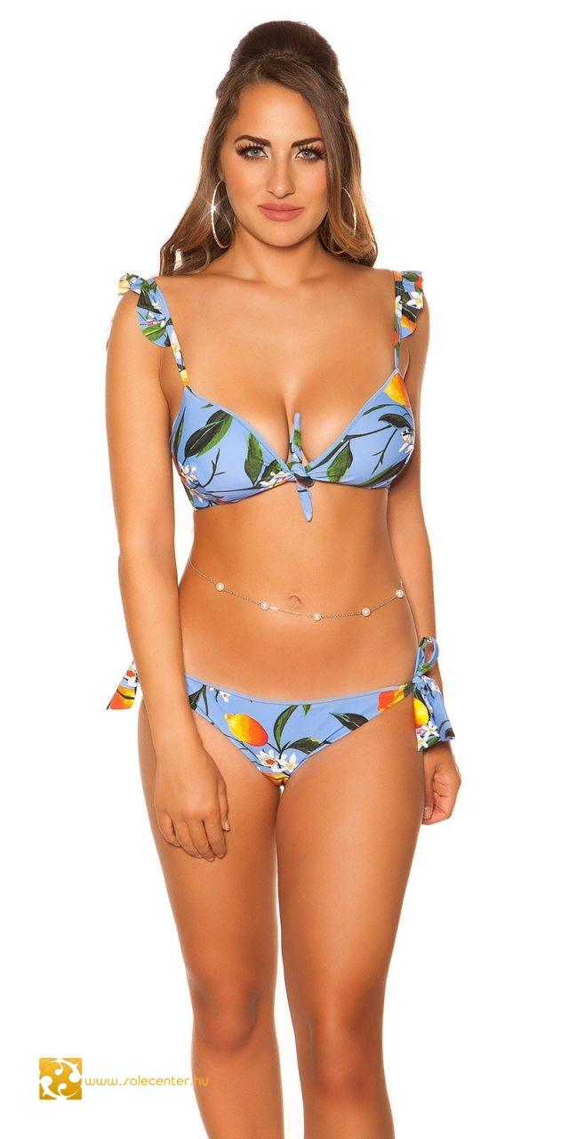 a8c9454107 Fodros pántos bikini 3 színben (XS,S,M,L)