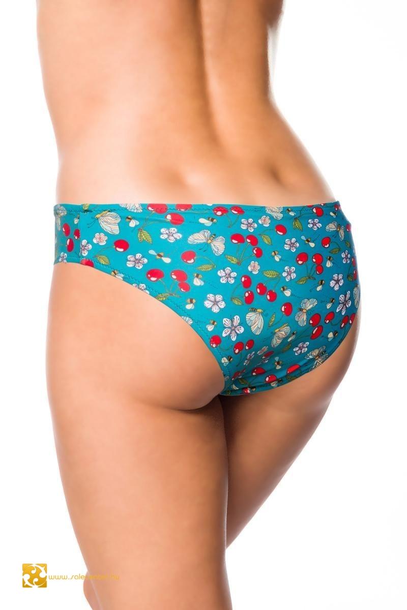 Retro mintás bikini alsó 6 színben (S,M,L,XL,2XL,3XL)