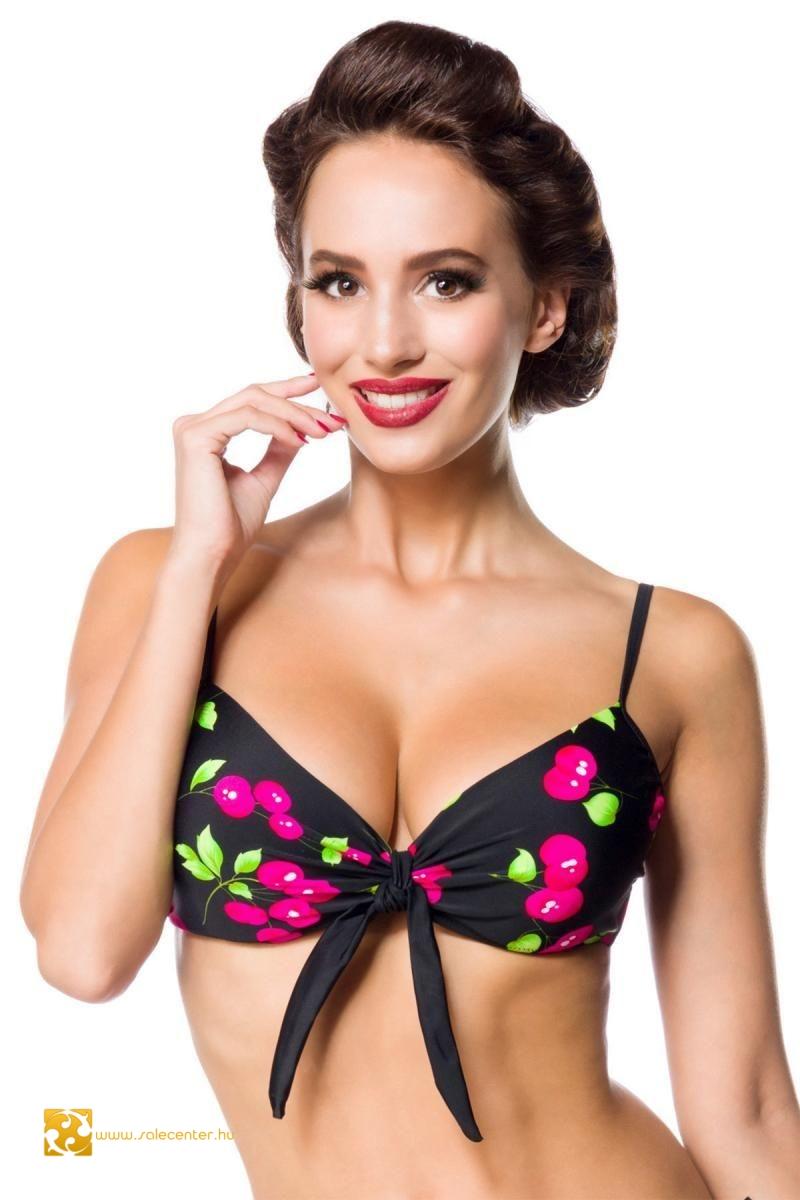 Mintás push up bikini felső 4 színben (S,M,L,XL,2XL,3XL)