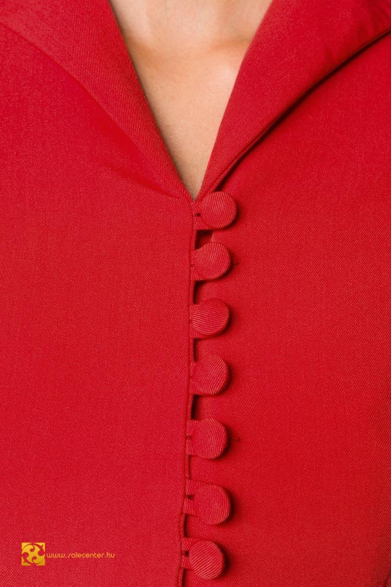 Galléros gombos Belsira ruha 2 színben (S,M,L,XL,2XL,3XL)