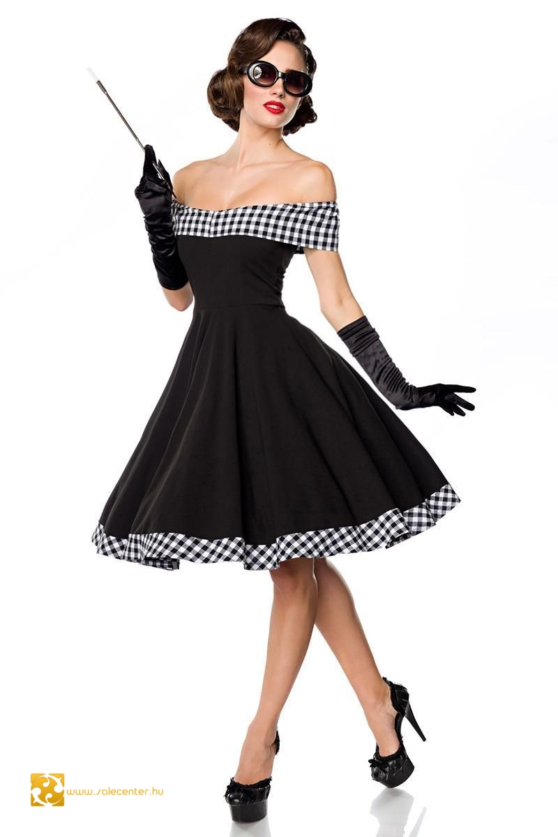 Ejtett vállú Belsira ruha (XS,S,M,L,XL,2XL,3XL)