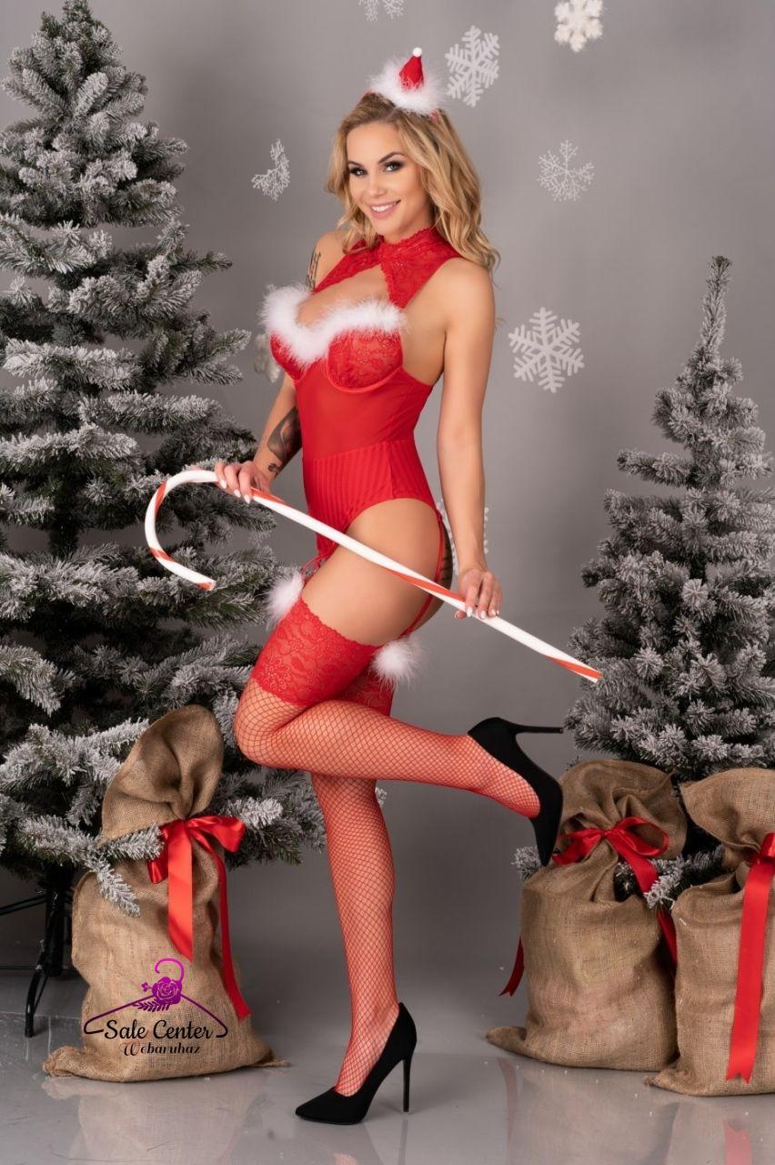 Livia Corsetti Limpid Snowflakes karácsonyi fehérnemű együttes (S-M,L-XL)