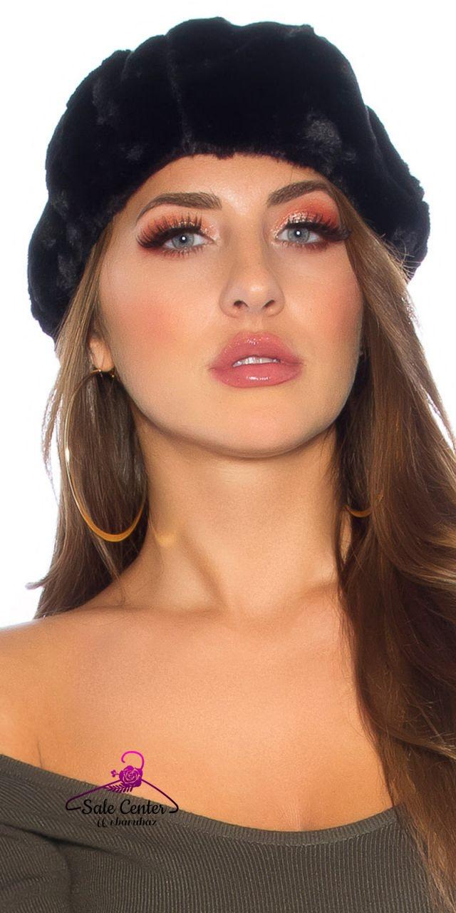 Szőrme kalap 7 színben