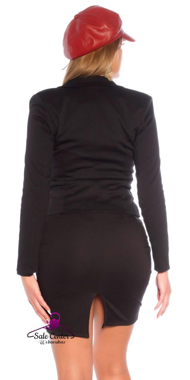 Elegáns szűkített fazonú kosztüm (S,M,L,XL)