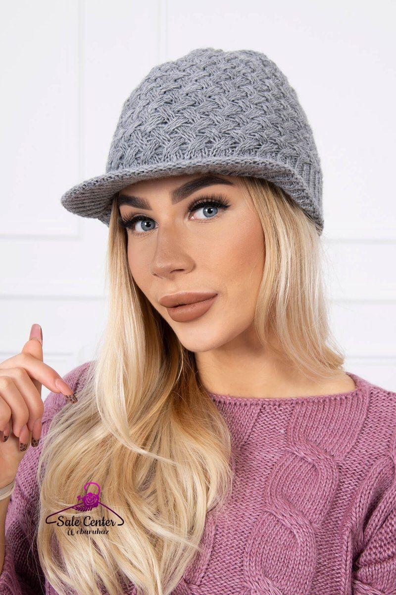Mintás kötésű gyapjú kalap 12 színben