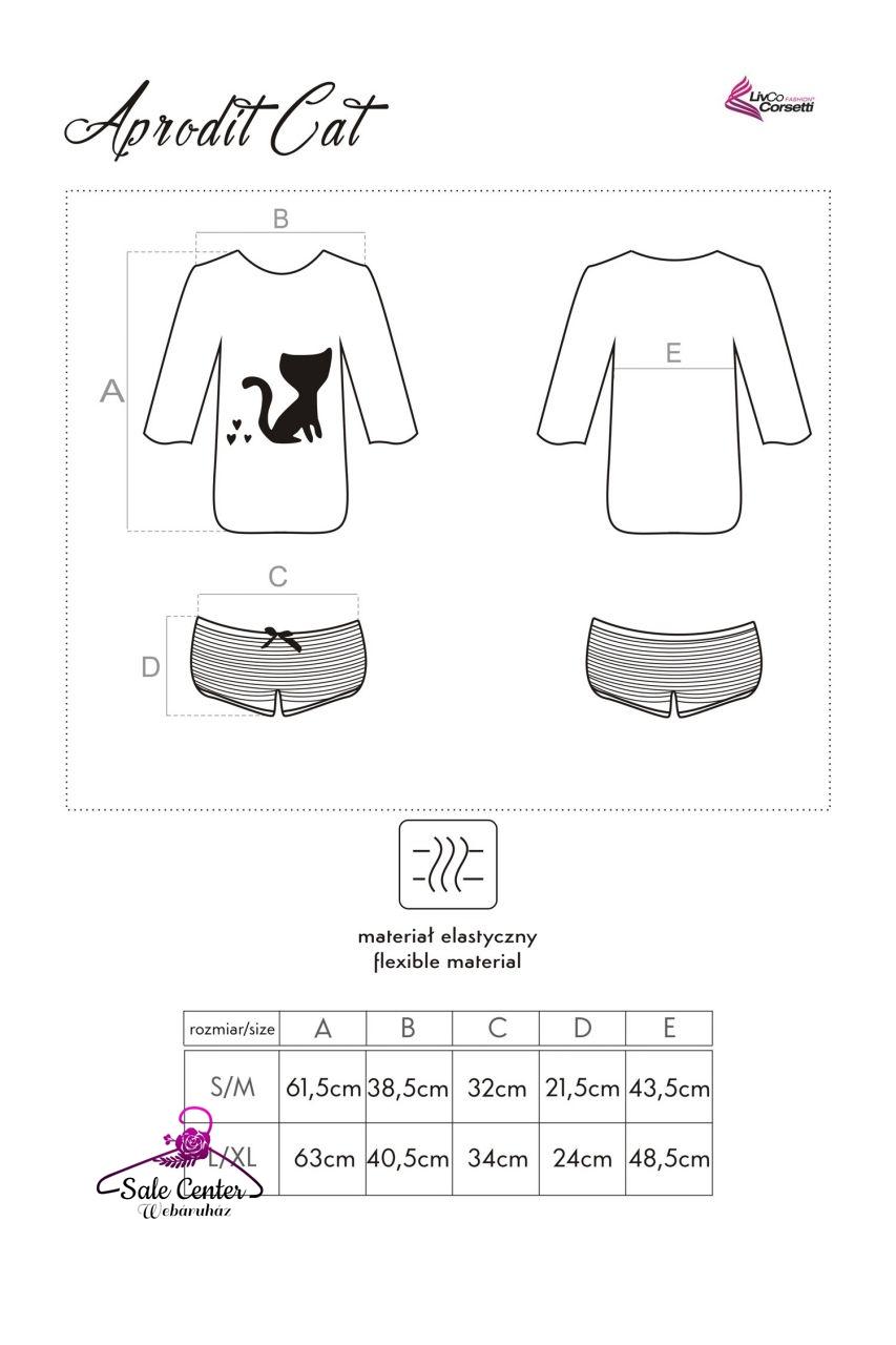 LivCo Aprodit Cat pizsama